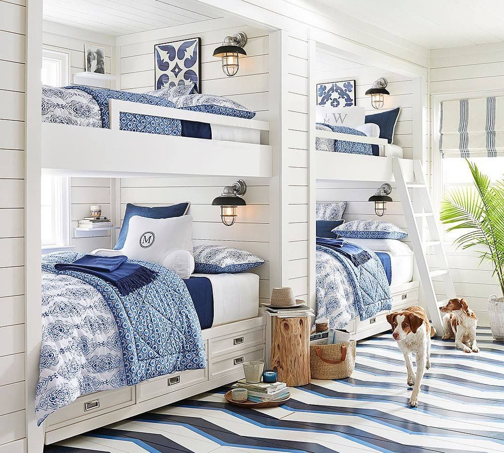 Storage beds pottery barn - Never Too Old For Bunk Beds Pottery Barn