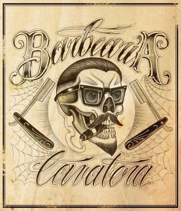 Cavalera barber shop fit en 2018 pinterest barbier - Tatouage cavalera ...