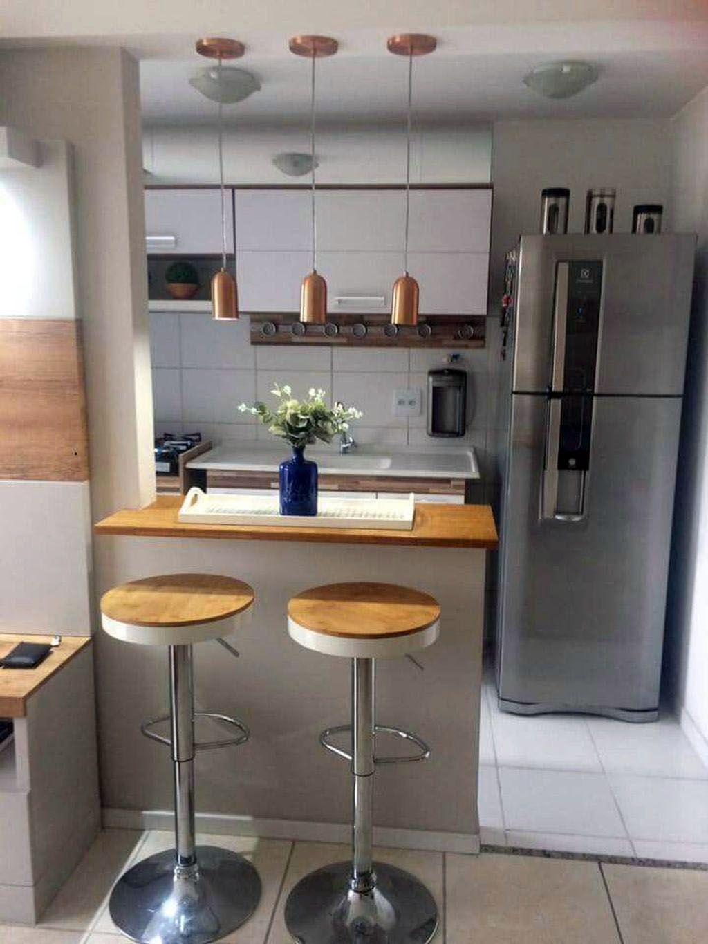 Smal Kitchen Ideas To Transform Your Portable Room Into A Smart Super Organised Space Tiny Kitchen Design Kitchen Design Small Kitchen Design