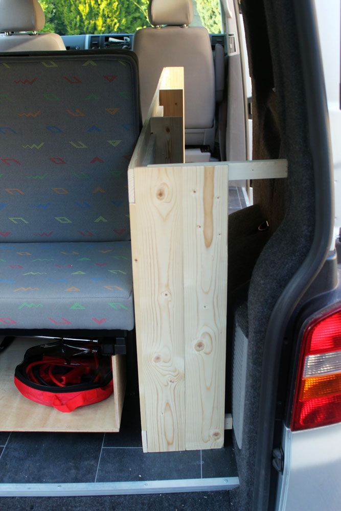 Custom build VW T5 campervan kitchen unit | VW Transporter