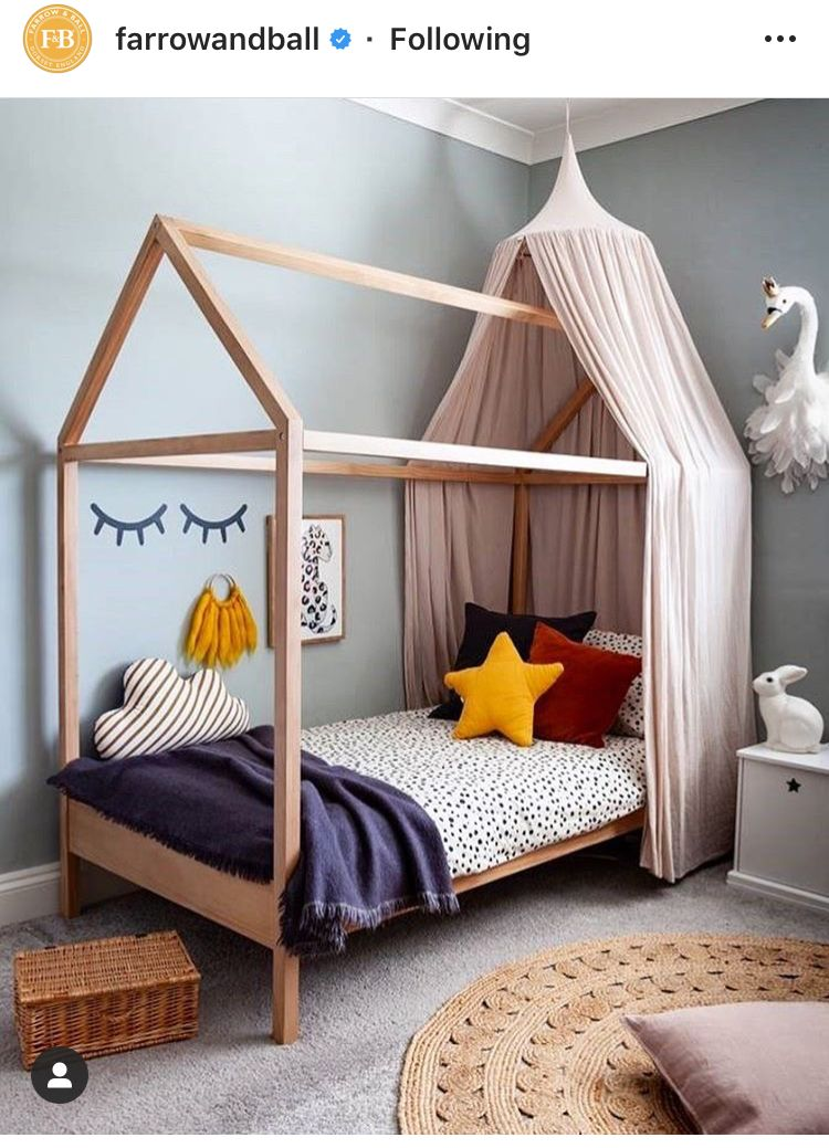 Pin by Becs Baker on Bedrooms House frame bed, Single