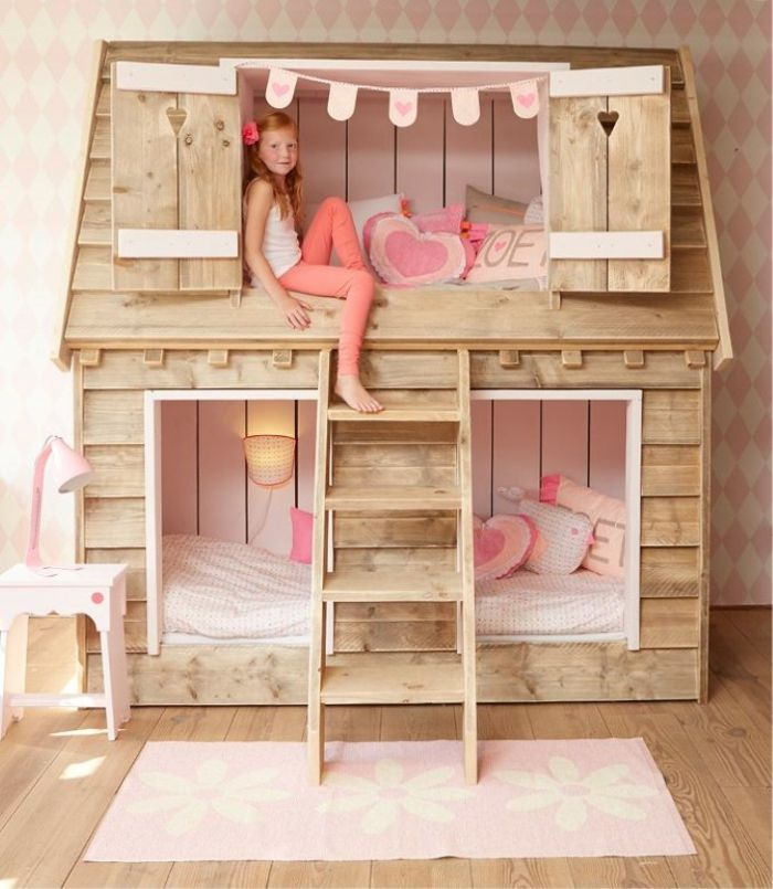 lit cabane enfant id es en immages pour vous inspirer chambre m linou pinterest lit. Black Bedroom Furniture Sets. Home Design Ideas