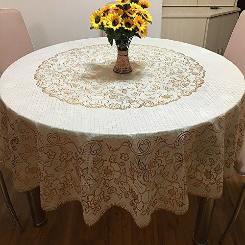 Plastic Lace Tablecloth Amazon 4 25 Each 9ft Lace Weddings