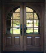 8 foot Front Entry Doors | Mahogany Wood doors | Custom Doors for Builders