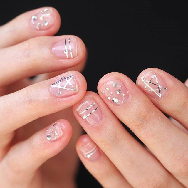 unistella_by_ek_lab on instagram | Minimalist nails, Nails