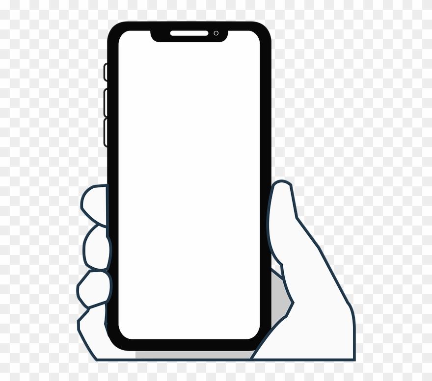 Iphone Clipart Smartphone Accessory Celular Sin Fondo Png Transparent Png Clip Art Smartphone Accessories Iphone