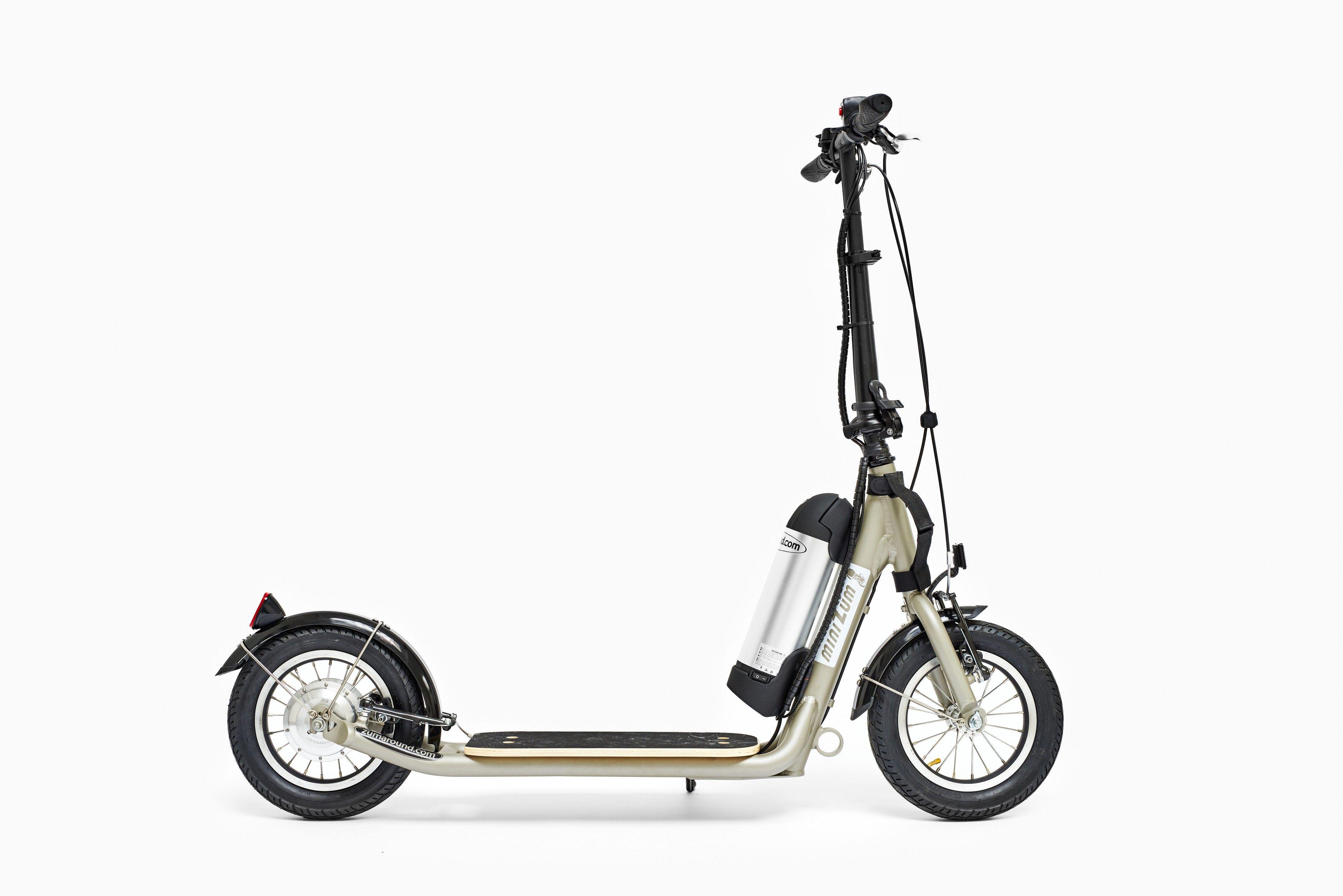 Silver Minizum Electric Kick Scooter Canada