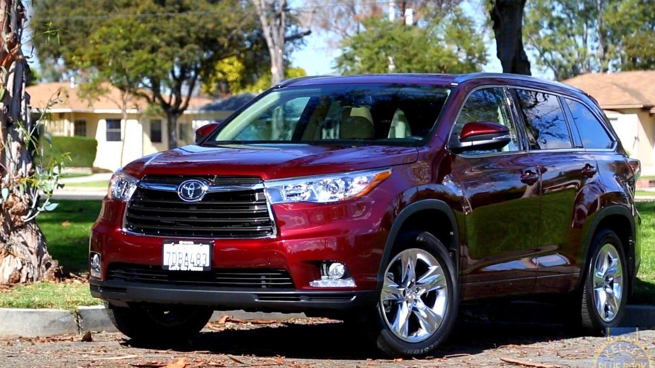 2014 Toyota Highlander Review Kelley Blue Book Toyota