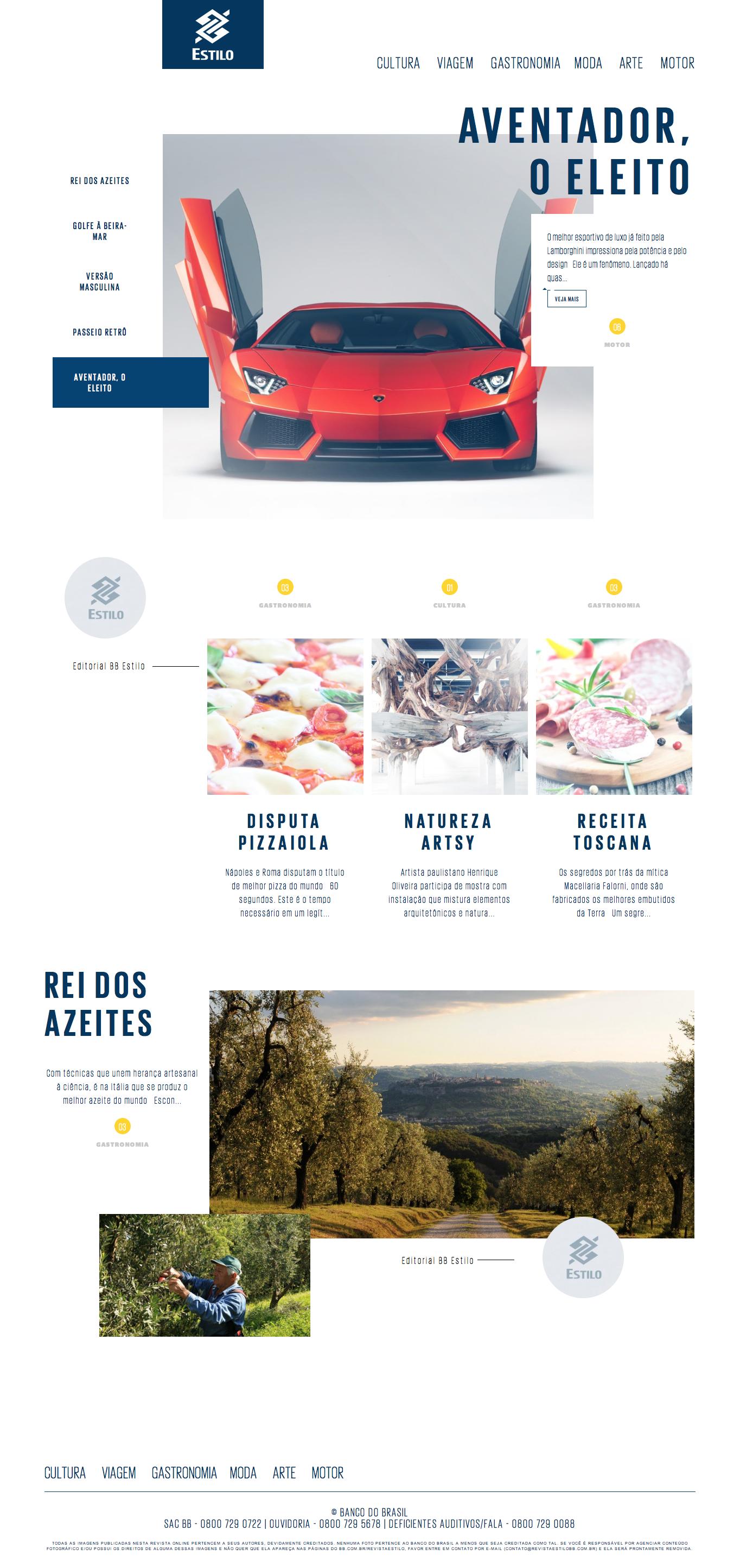 Revista BB Estilo by Click | #webdesign
