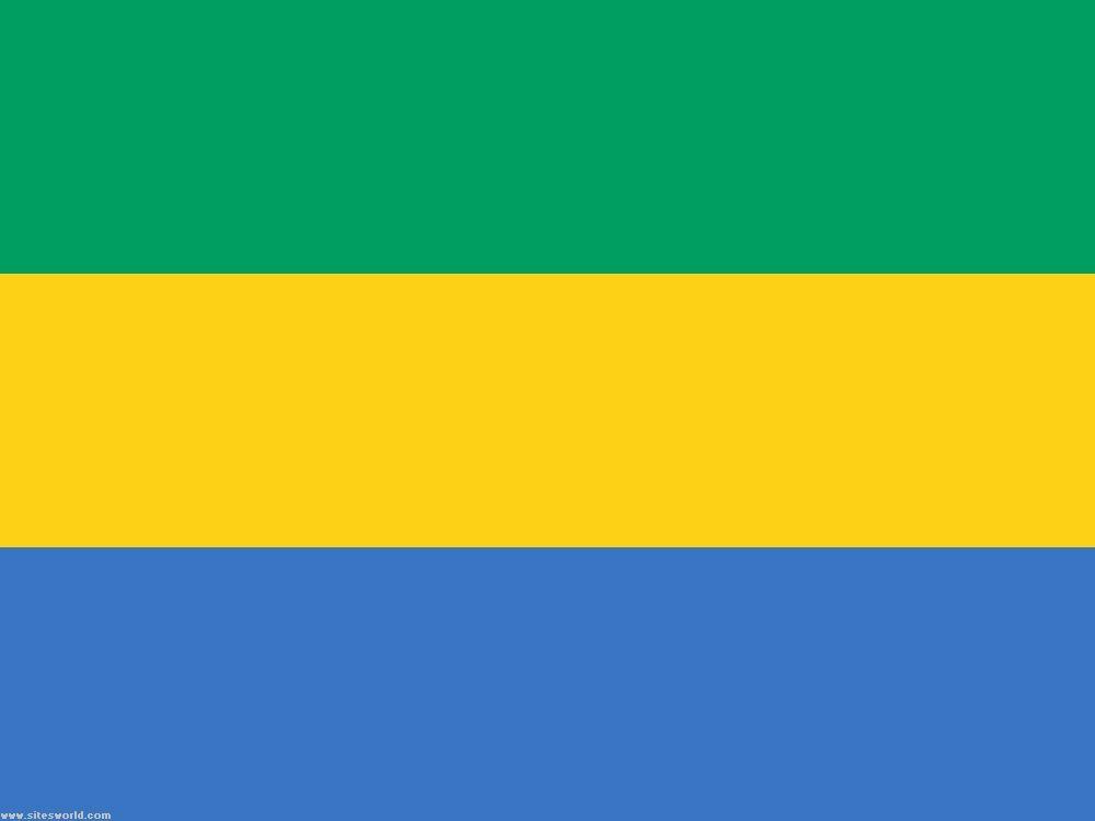 Flag Of Gabon Gabon Flag Flags Of The World Wood Look Tile