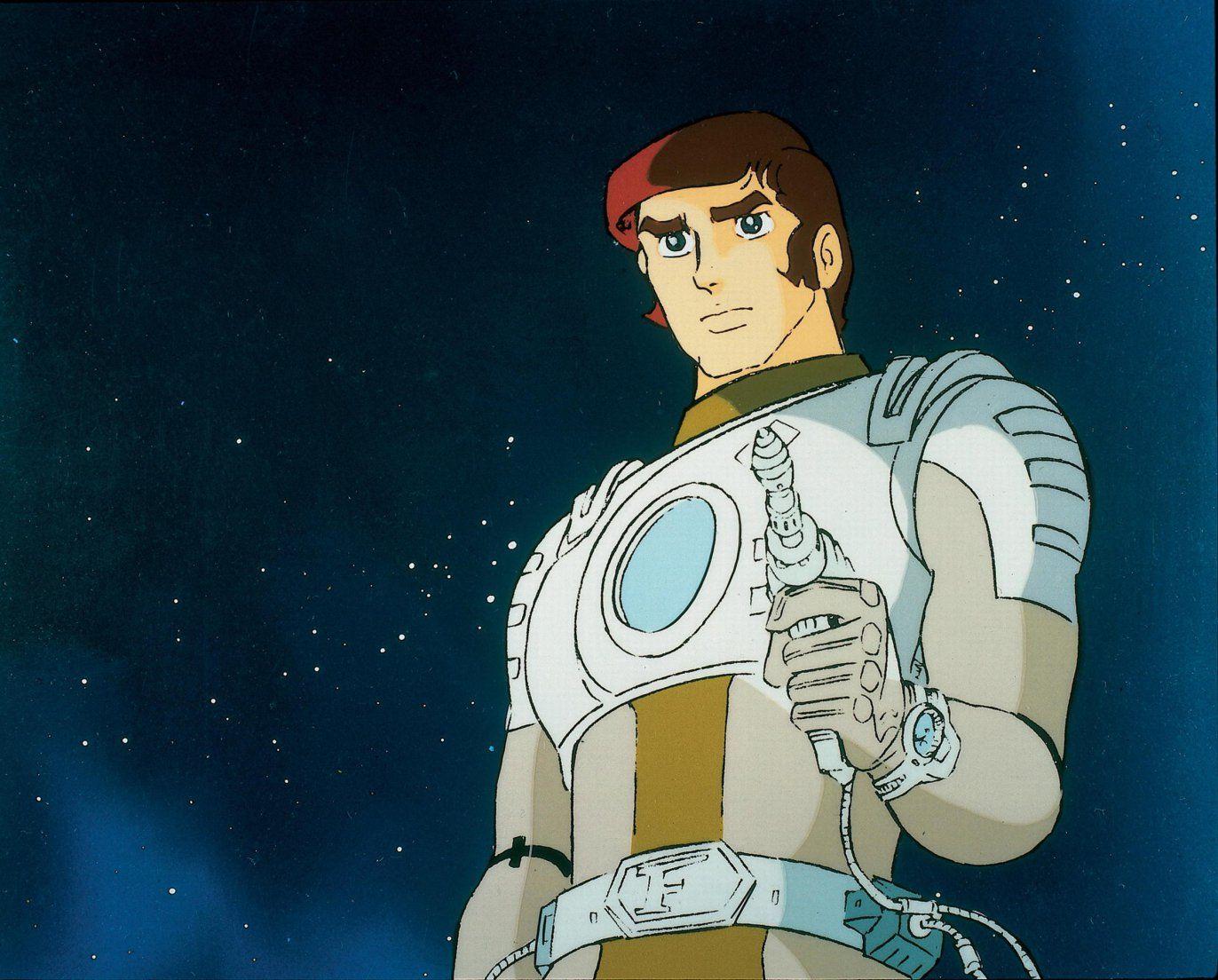 Animated series captain future 1978 anime classic
