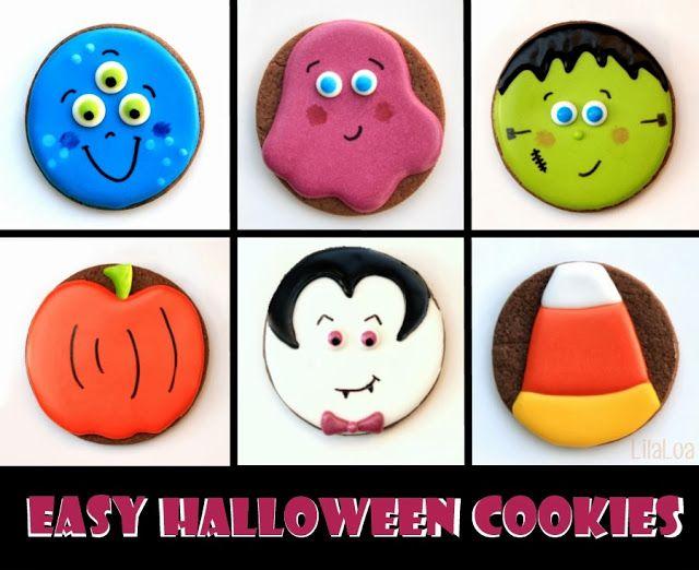 Halloween Cookies #halloweencookies