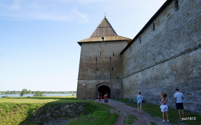 """Воротная (Государева) башня. Шлиссельбургская крепость """"Орешек"""""""