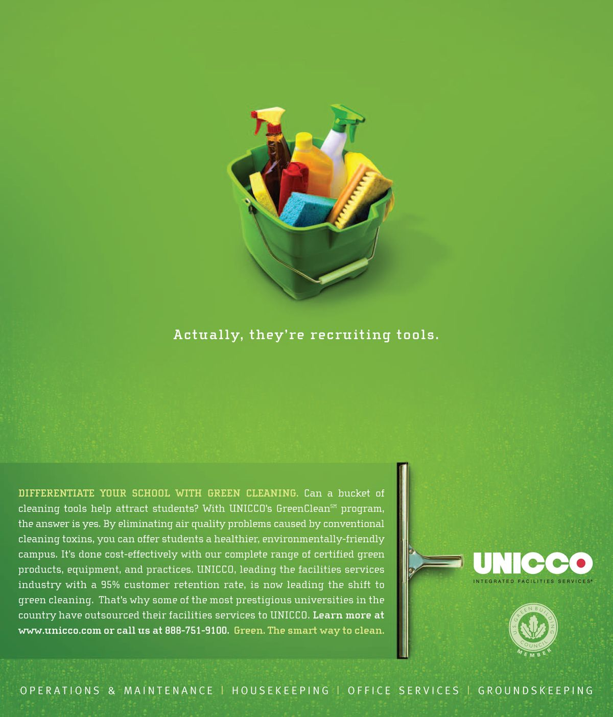 unicco green cleaning education ad brand stories unicco green cleaning education ad