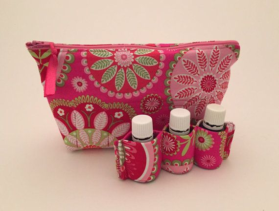 Essential Oil Bag Carrying Case 14 Gypsy by honeybeesboutiques