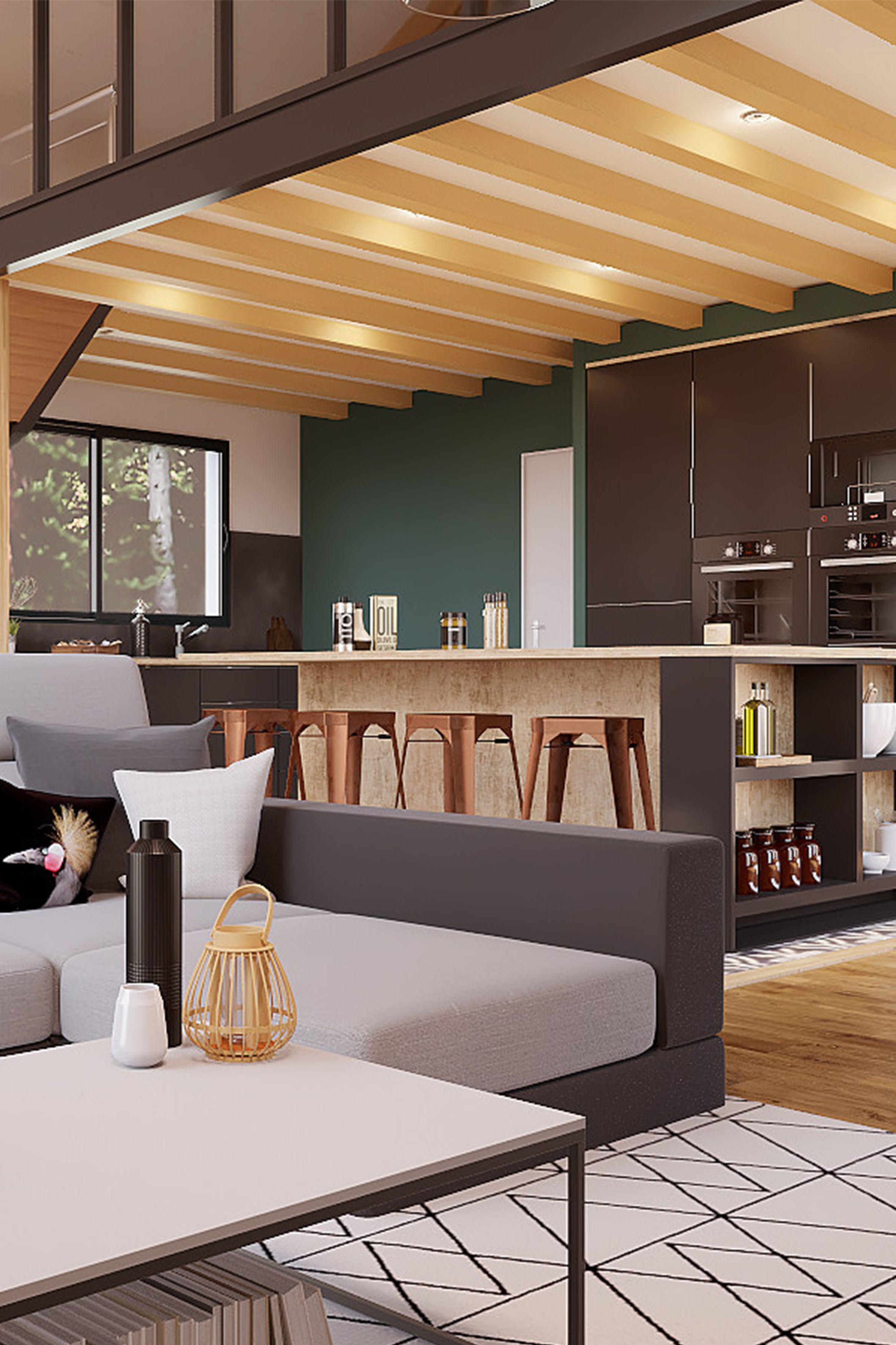 Salon Cuisine Style Industriel battle déco 12 : rénovation grande style industriel