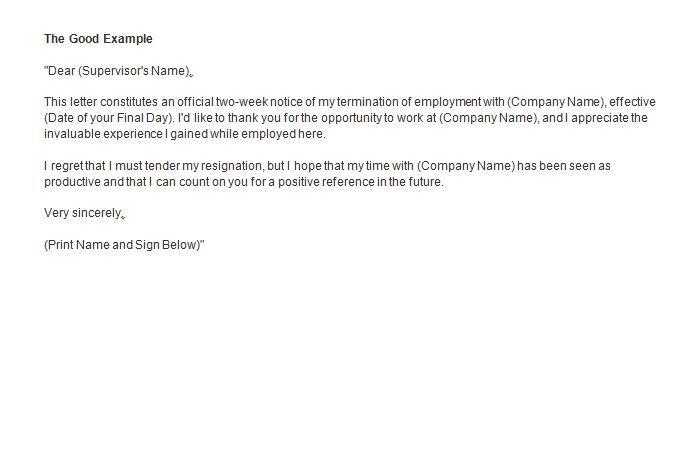 sle resignation letter 2 weeks notice custom college papers News