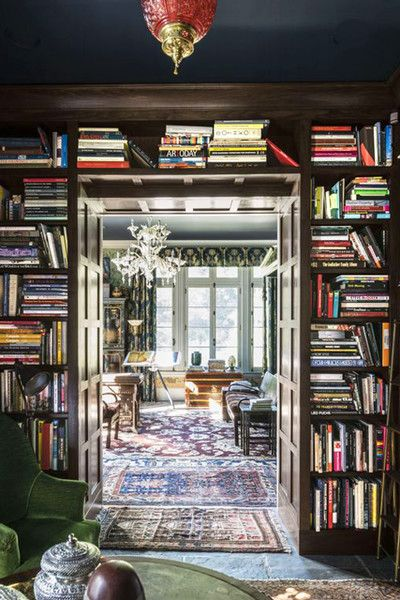 Stylish Library - Why Maximalism Is The New Minimalism - Photos