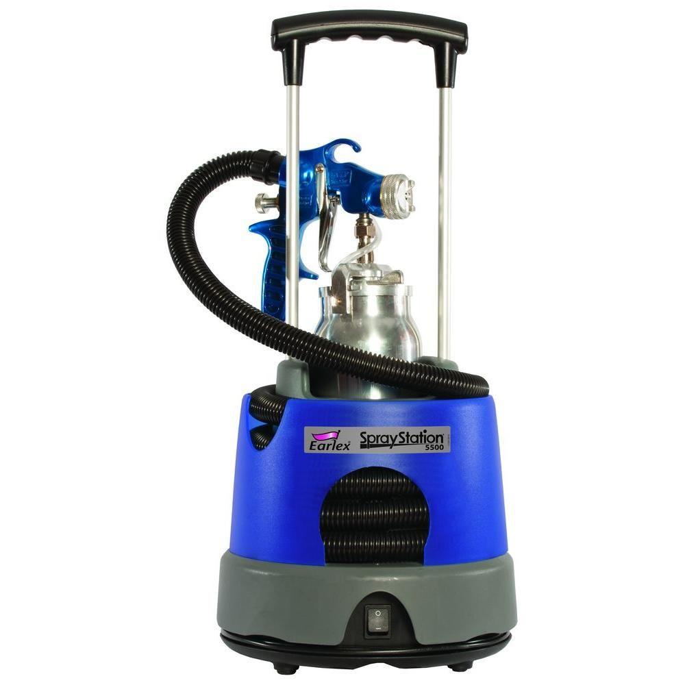 Earlex Spray Station 5500 Hvlp Paint Sprayer In 2020 Hvlp Paint Sprayer Best Paint Sprayer Paint Sprayer Reviews