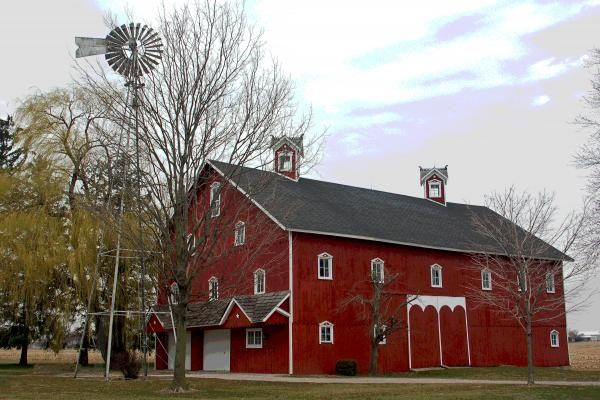 Amish Barn - Allen County, Indiana.... I truly miss Fort ...