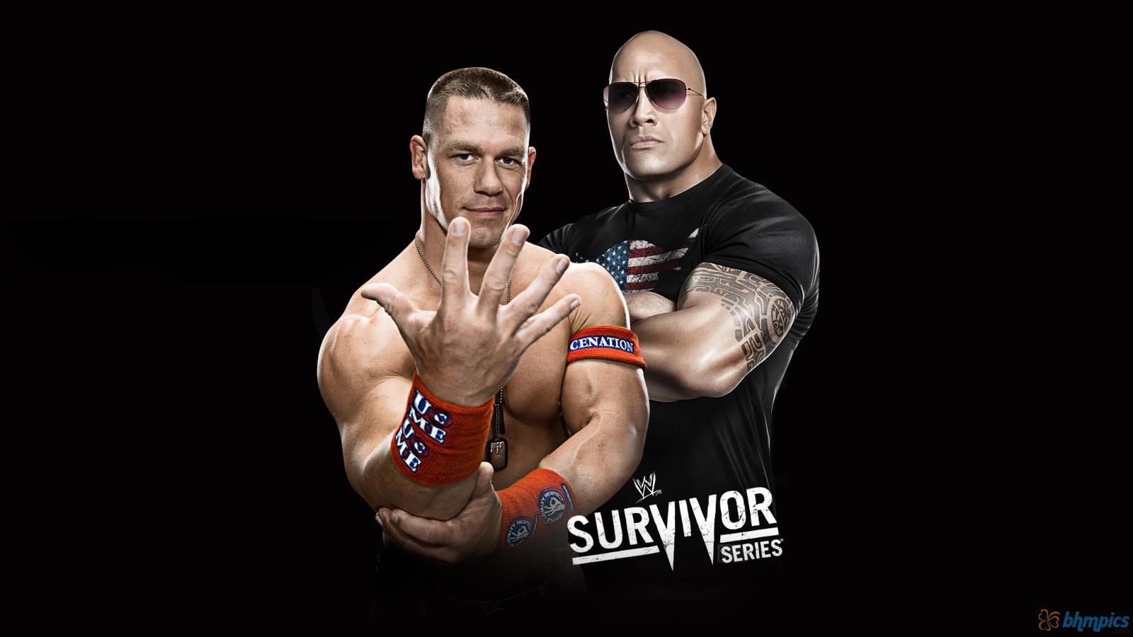 Wwe John Cena And The Rock Hd Wallpaper Survivor Series Stuff To