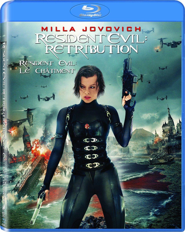 Resident Evil Retribution 2012 Hindi Dubbed Brrip Resident Evil Milla Jovovich Retribution