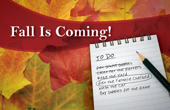 Fall Autumn Fallhomemaintenance Tips Homemaintenance Furnace