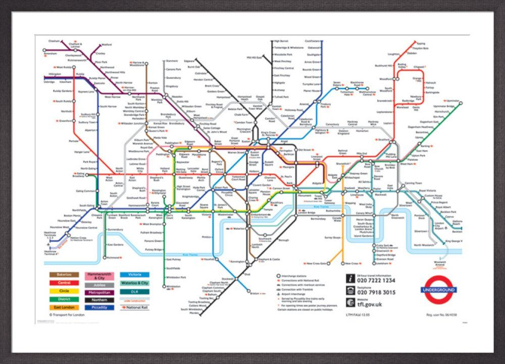 London Underground Map 2011 By Transport Of London Underground Map London Map London Tube Map