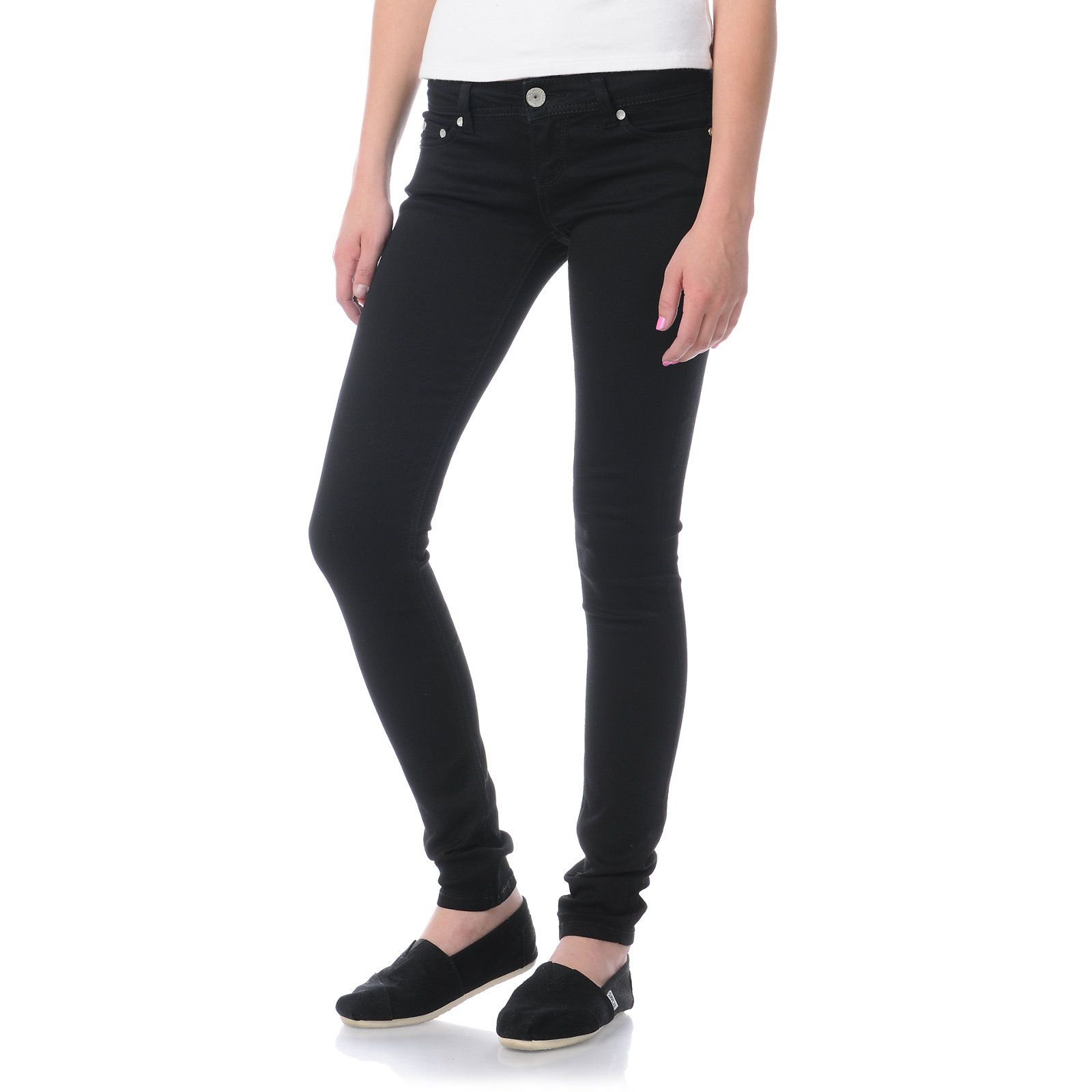 Almost famous willow black skinny jeans at zumiez pdp my style