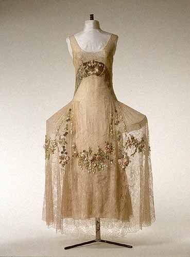 Boué Soeurs, Evening Dress, Paris c. 1923-25.