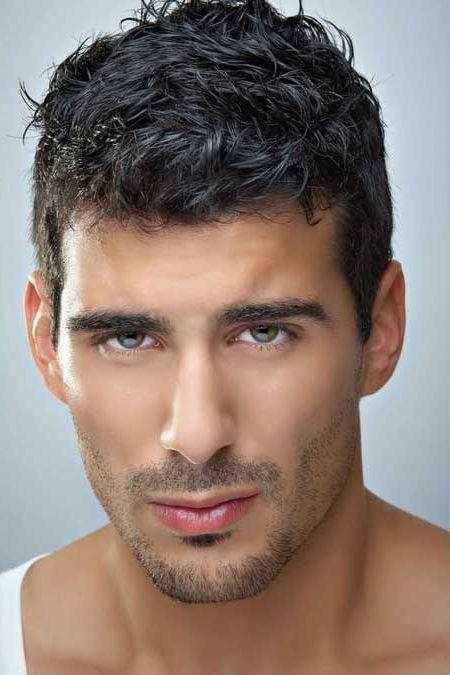 Short Hairstyles For Men With Thick Wavy Hair Best Hairstyle With Thick Curly Hair Davedunmore Mannenkapsels Krullende Herenkapsels Herenkapsels
