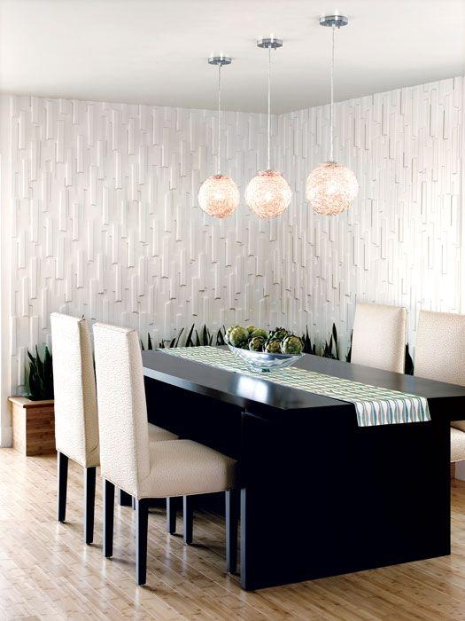 Modular Arts Wall Tiles Modern Dining Room Dining Room Design Interior