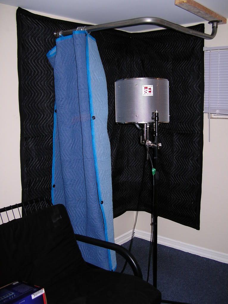 diy guitar recording booth