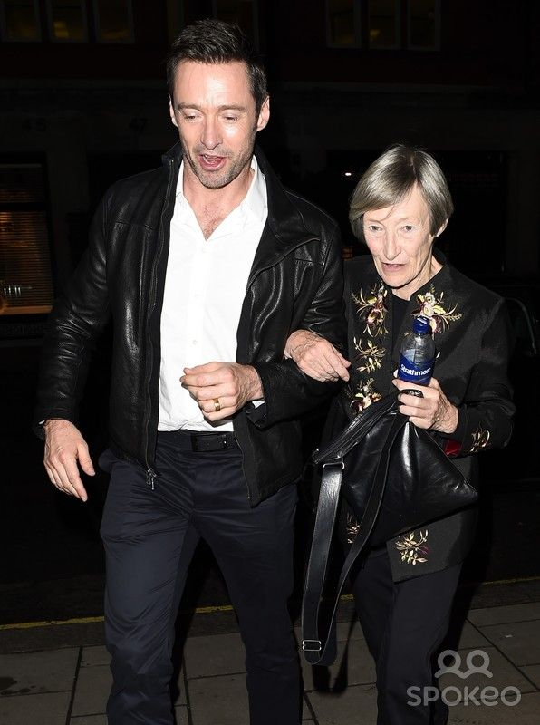 Asset Caption Hugh Jackman Arrives At A Hotel In London With His