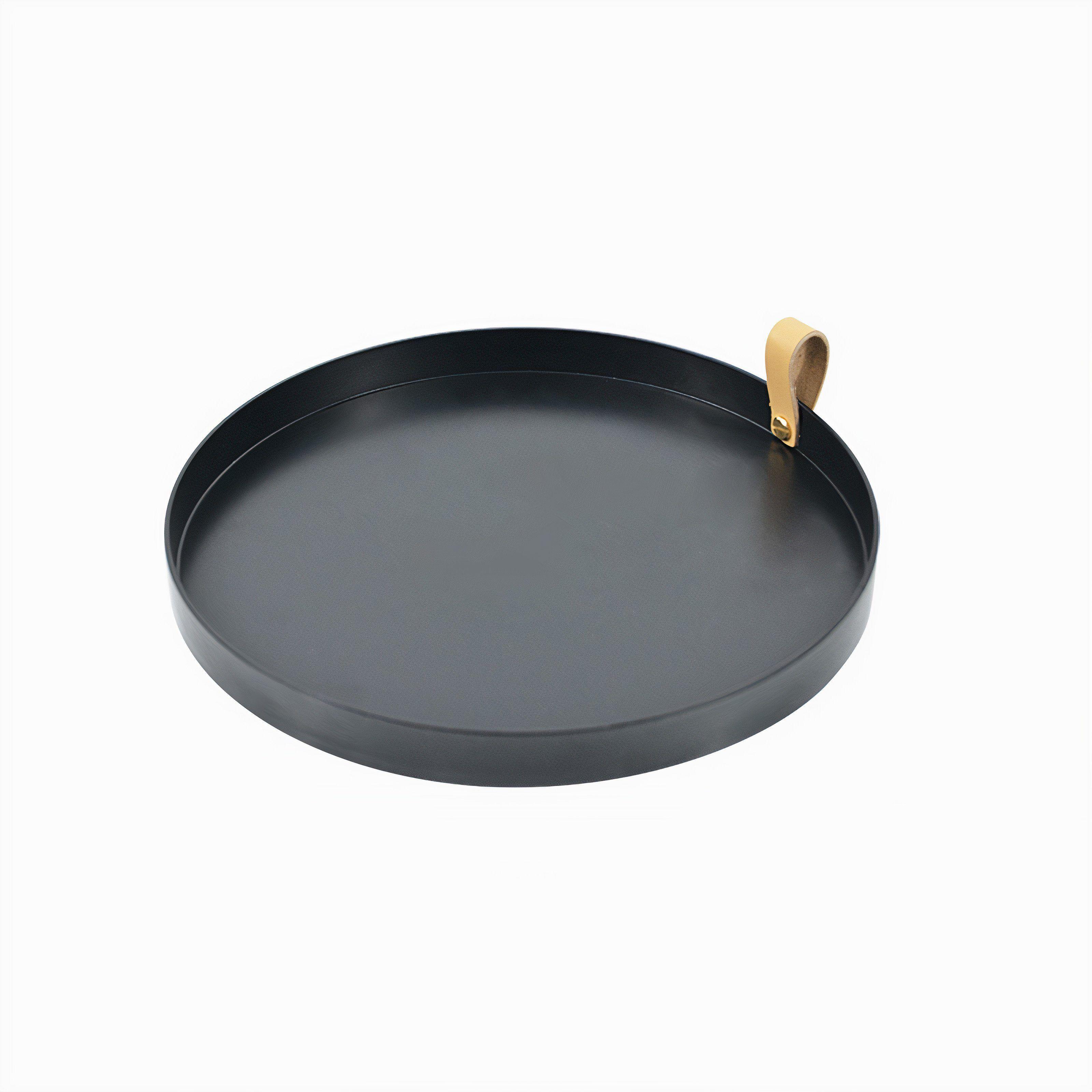 Minimalist Trinket Tray - Black