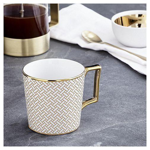 Tesco Direct Fox Ivy Soho Links Mug Tableware Porcelain Tableware Mugs