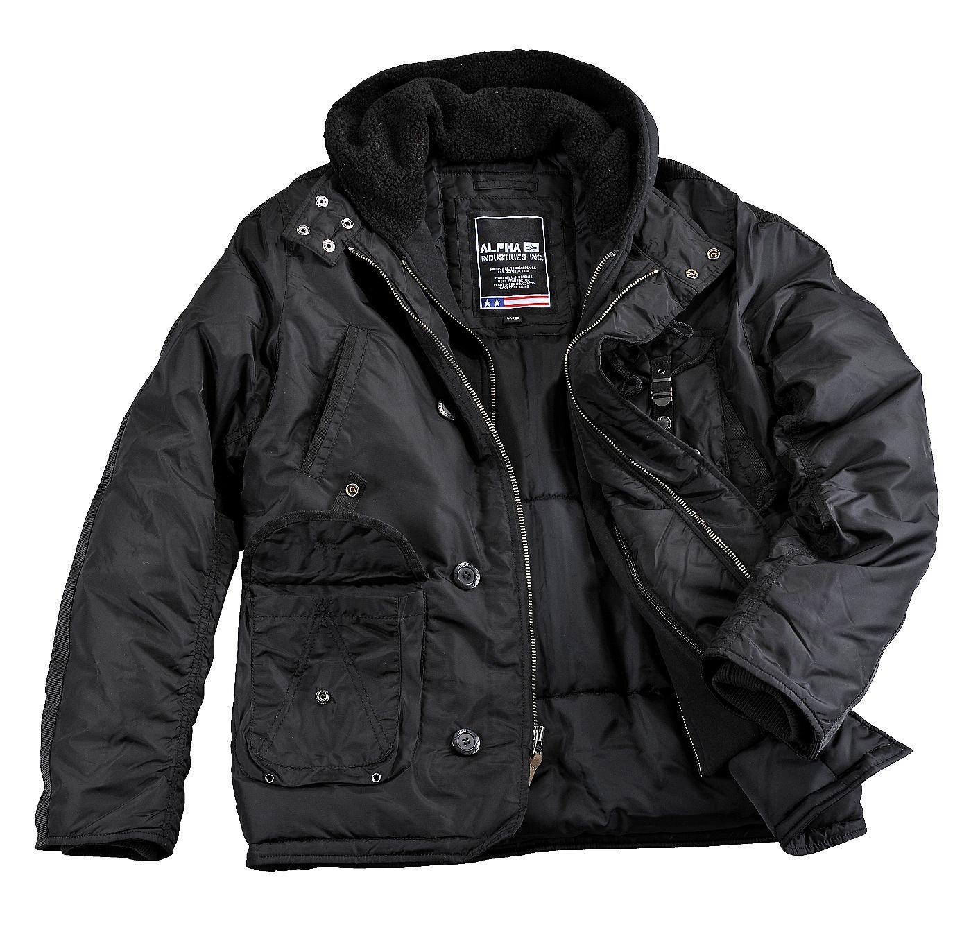 Produktbeschreibung:      - Alpha Industries Kapuzenparka Cobbs III aus 2Tone Nylon     - Warm gefütterte Jacke für die kalte Jahreszeit     - Gefütterte Sweatkapuze     Passform & Größenlauf:      - Normale Passfom - (SF - Standard Fit)     - Erhältlich in den Größen: S - 3XL        Material & Pflege:      - Oberstoff: 100 % Nylon     - Futter: 100 % Nylon     - Wattierung: 100 % Polyeste...