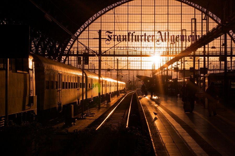 Hauptbahnhof Frankfurt Germany U bahn frankfurt