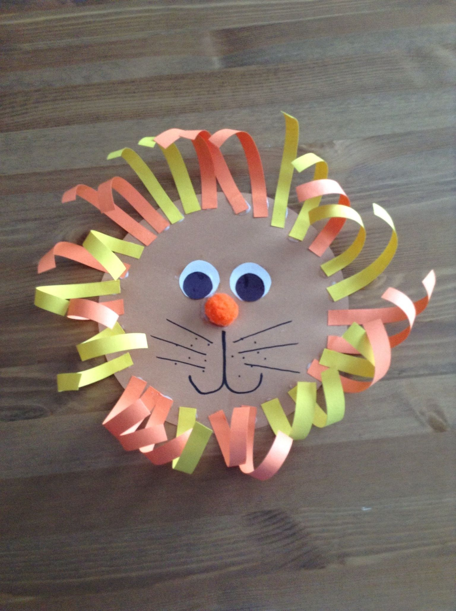 L Is For Lion Craft