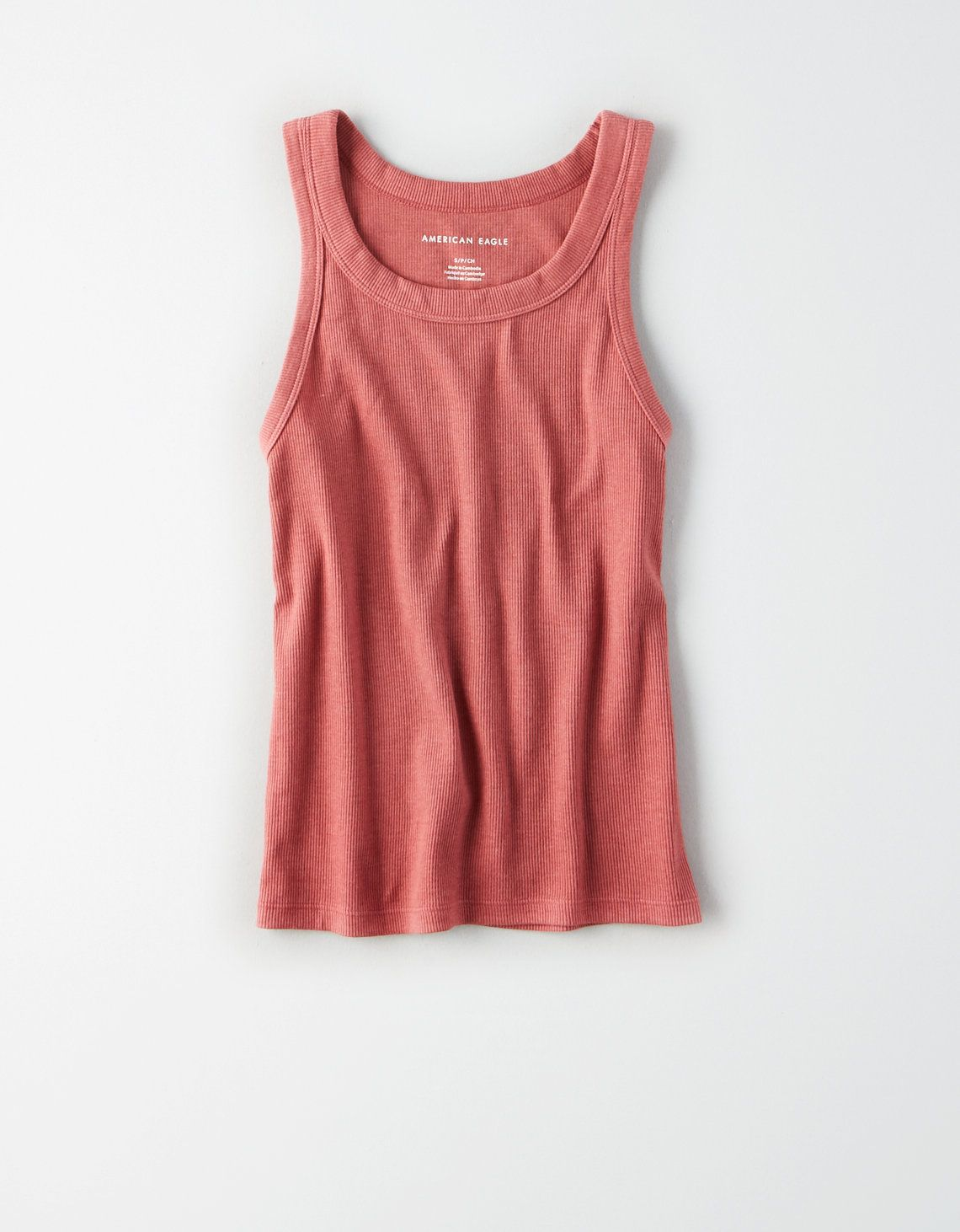 c3fa1a74fd3c4a AE High Neck Tank Top