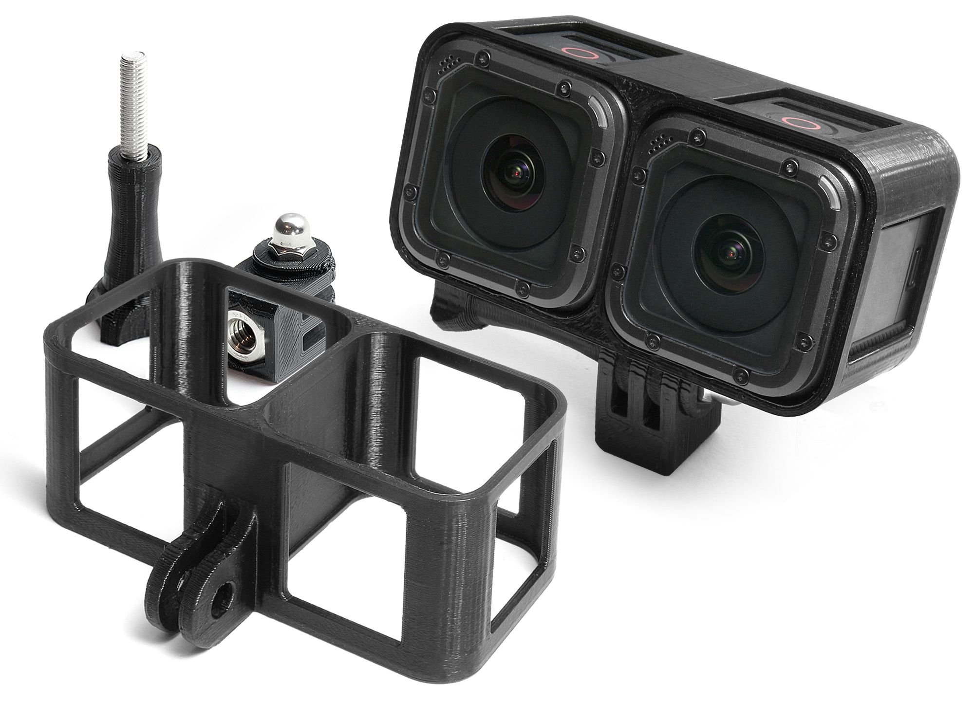 1cb0a09052e6ba 3D Frame for GoPro HERO4 Session | VR & 360 Video | Gopro ...