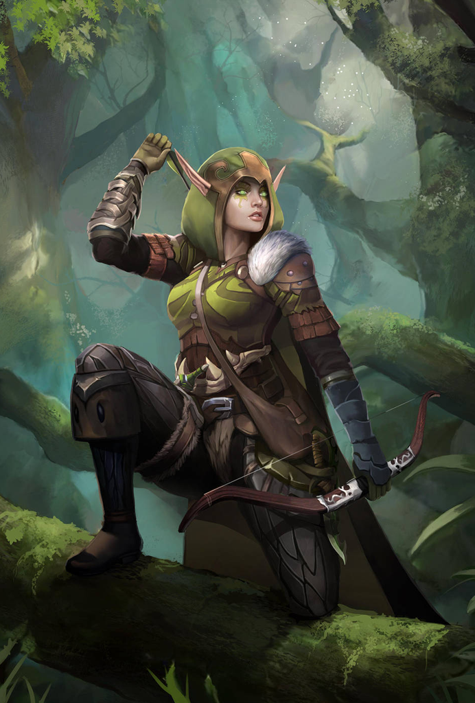 Archer/Ranger D&D Character Dump | Warcraft art, Elves fantasy, Fantasy  character design