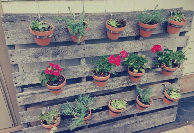 Vertikale Pflanzgefäße - einfache Ideen für hängende Pflanzen