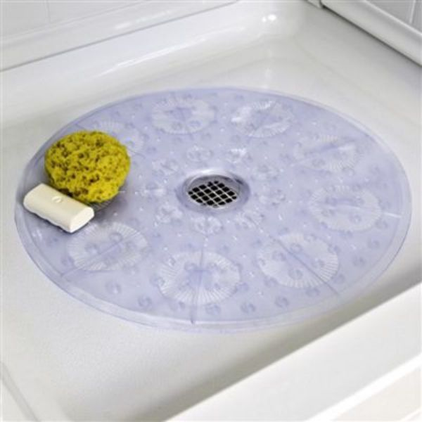 This Shower Mat Has Reliable Non Slip Suction Cups That Hold The Mat Firmly  To The Smooth Surface Of Your Shower Stall, Providing A Confidence That You  Will ...