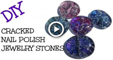 Cool Art Projects About Cracked Nail Polish Stones