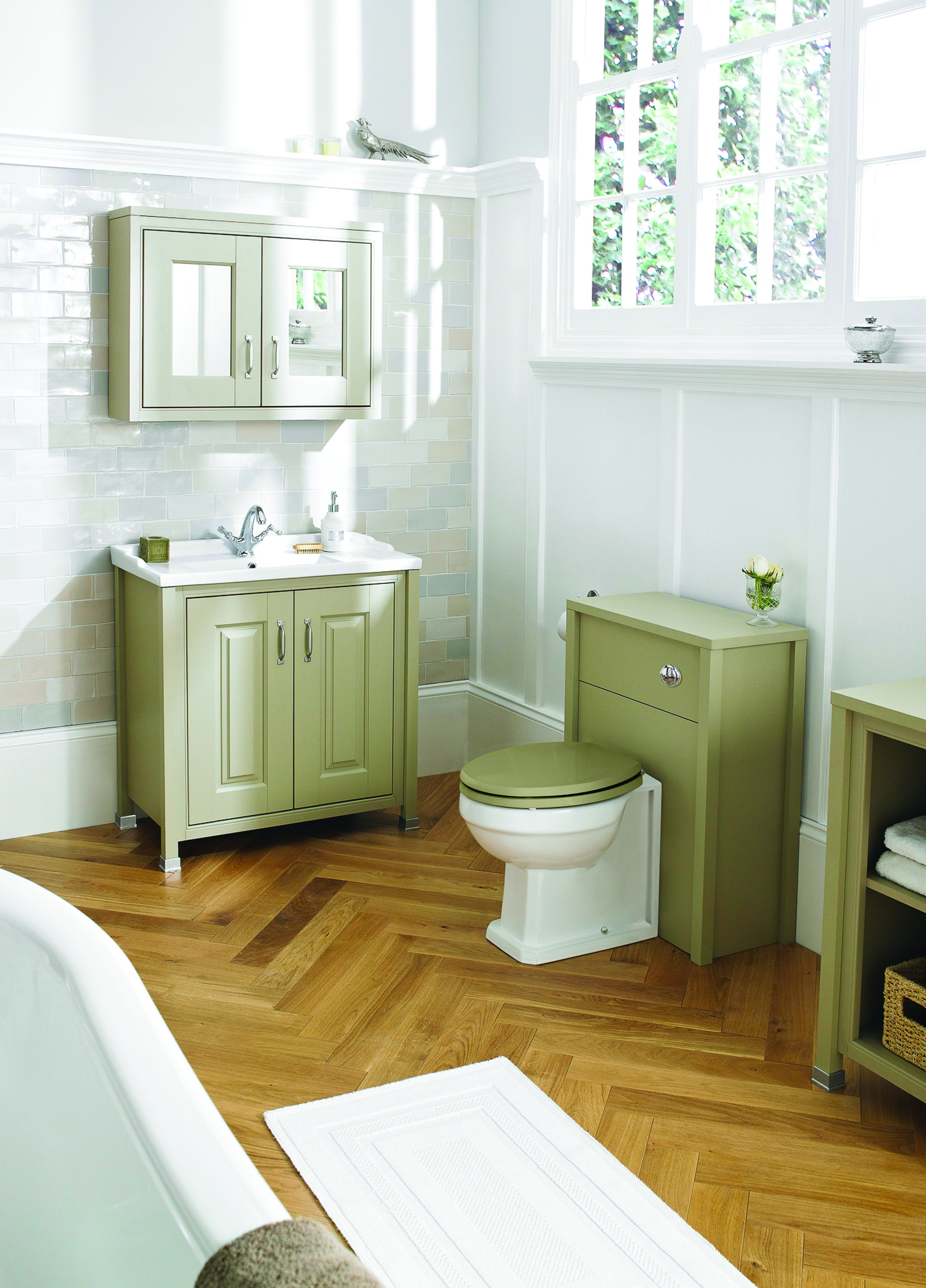 With the timeless beauty of its Pistachio finish  the Rockingham furniture  range combines subtle detail. With the timeless beauty of its Pistachio finish  the Rockingham