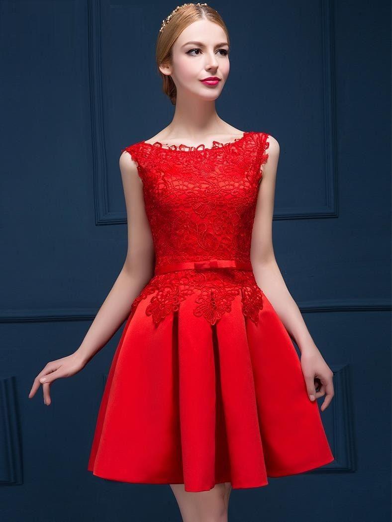 vestidos juveniles de noche cortos (1) | uñas | Pinterest
