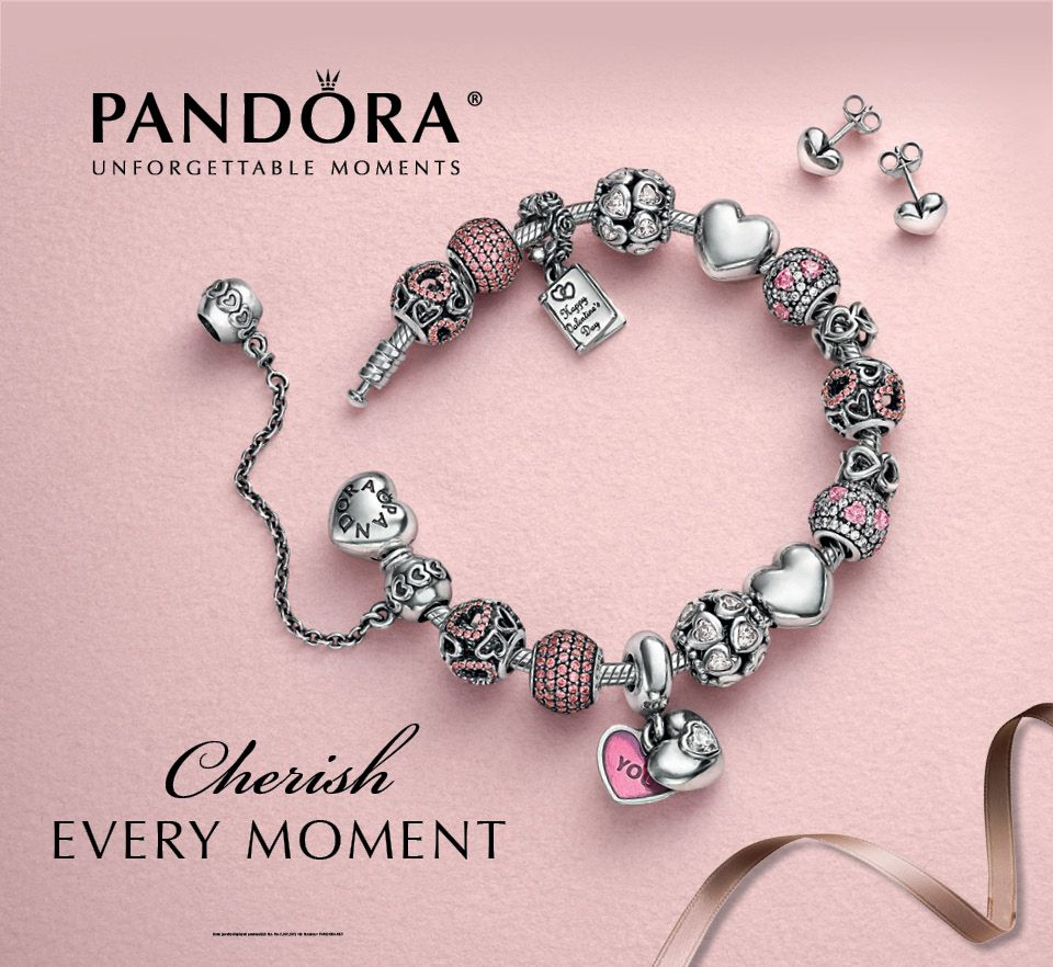 pandoras new valentines day collection is love at first