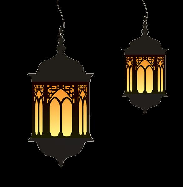 Ramadan Lamp Duo Islamic Wall Art Wallpaper Ramadhan Ramadan Background