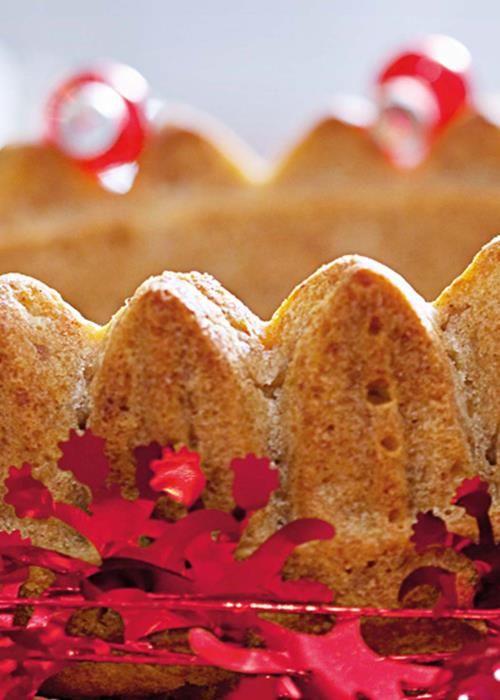 Bolo de pão com canela e erva doce